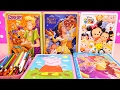 Speed Coloring Toys Scooby Doo, Beauty & the Beast, Tsum Tsum, Princesses, Peppa Pig