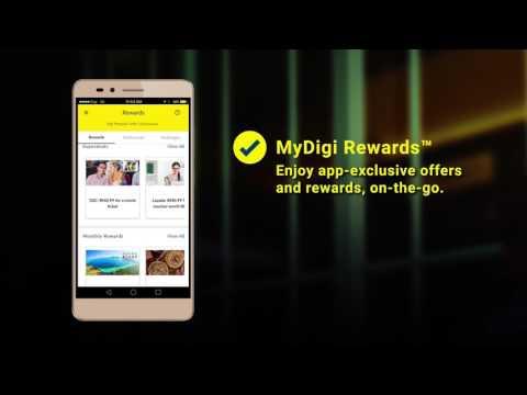 The All New MyDigi App