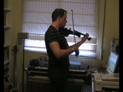 Warm-up exercise triplets sixteenth. Violin