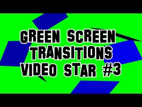 Green Screen Transitions Video Star #3