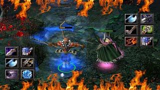 DOTA JUGGERNAUT VS MORTRED (HARD GAME)