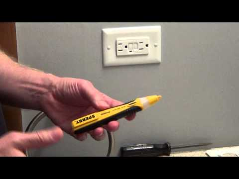 Electrical Tester - How to Use an Electrical Tester - Circuit Tester