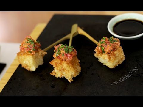 Crispy Rice Tuna Tartare Poppers Recipe