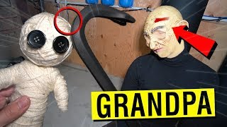 DO NOT MAKE A GRANDPA VOODOO DOLL AT 3AM!! (I DID THIS TO HIM)