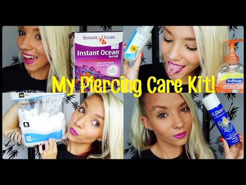 What's in my Piercing Care Kit! | BreeAnn Barbie