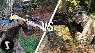 Airsoft YouTubers FREE FOR ALL! (Silo vs Novritsch etc)