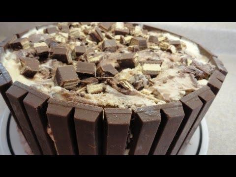 Kit Kat Candy Bar Ice Cream Cake - with yoyomax12