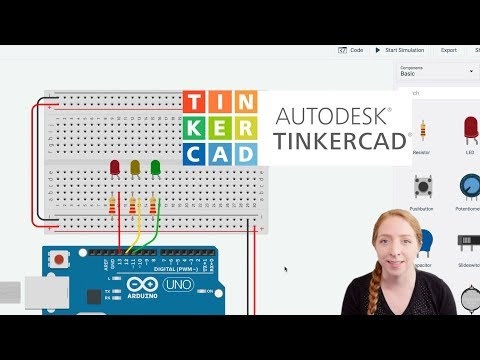 LEDs & Breadboards With Arduino in Tinkercad