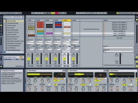 Ableton live 8 - House / Trance