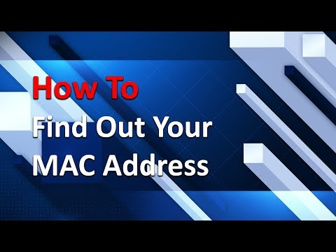 How To Find MAC Address on Windows