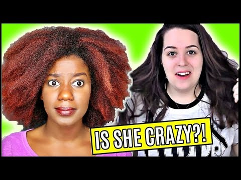 I TESTED THE MOST VIEWED HAIR HACK! on YouTube!