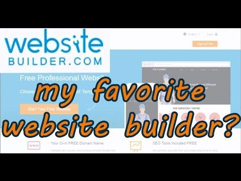 WebsiteBuilder.com Review - My Favorite Website Builder?