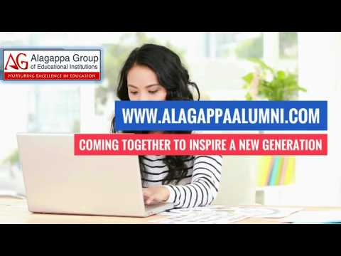 Why Join AGAA?..| Alagappa Global Alumni Meet 2018