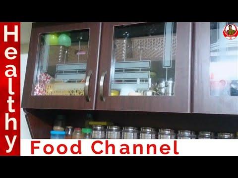 Kitchen organization | Kitchen Cabinet Organization in Tamil | kitchen tour