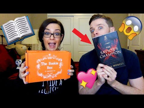 UNBOXING MY BOOK! - The Savior's Champion, the Bookie Box, and more!