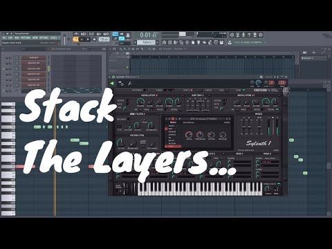 EDM - Stack the layers... but seriously. Powerful loop. Use only Sylenth1 Factory Banks