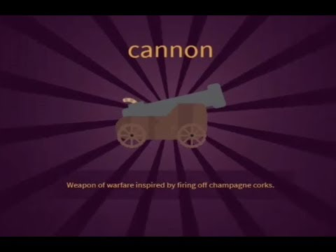 LITTLE ALCHEMY 2- how to make CANNON