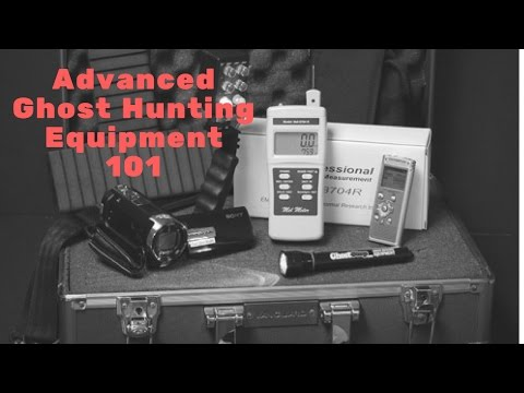 Advanced Ghost Hunting Equipment: SLS Cam, Para Puck 2, Ovilus 5, and the PSB-11