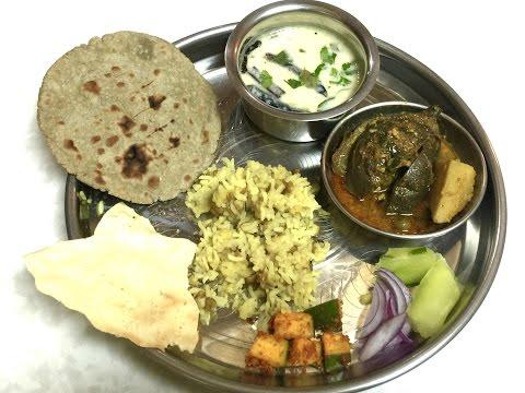 Complete Gujarati Thali Episode 2 | Khichdi, Kadhi, Bajra Roti, Ringan Ravaiya