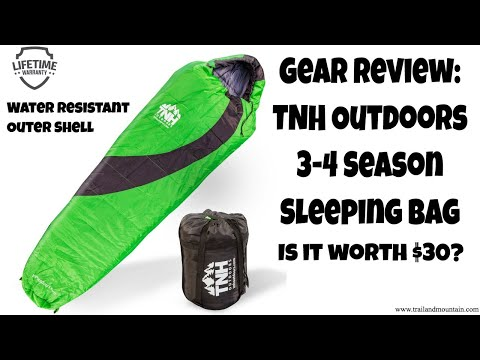 TNH Outdoors Sleeping Bag Review