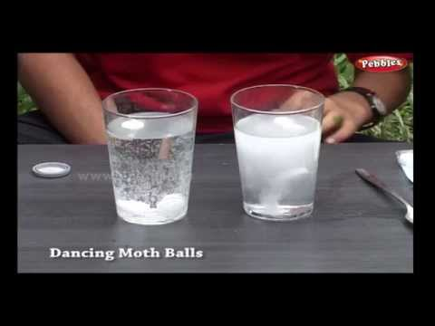 Dancing Moth Balls   Science Experiments   Science Projects   Science Tricks   Science of Stupid