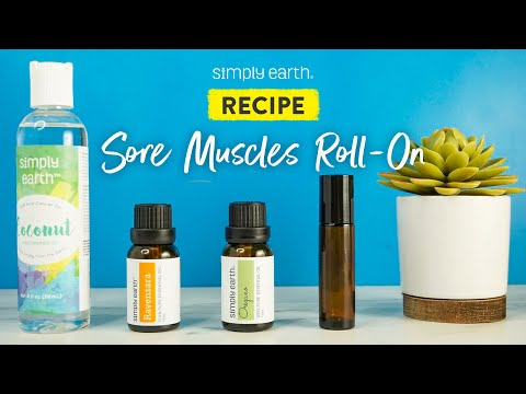 DIY Sore Muscles Roll On
