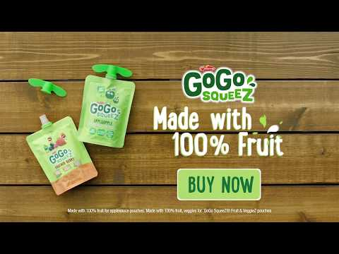 """Trade Proof Snack"" :30 | GoGo squeeZ"