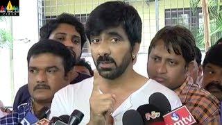 Ravi Teja Clarifies about His Brother Bharath with Media | Telugu Movie Updates | Sri Balaji Video