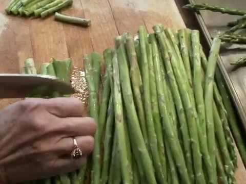 Fit for a King Breadcrumb Asparagus