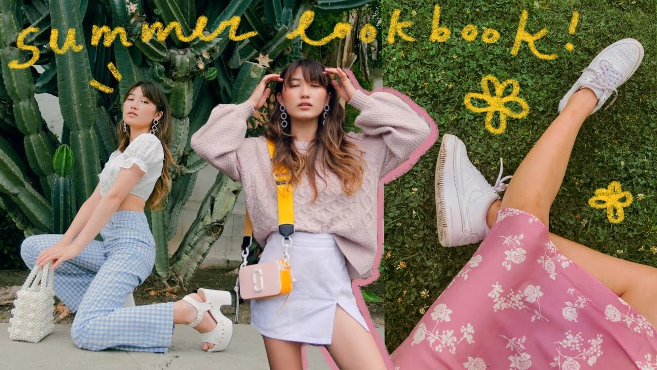 SUMMER LOOKBOOK (lots o' outfit ideas)