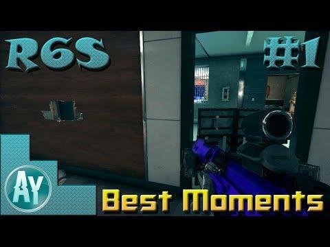 Rainbow Six Siege: Best Moments Montage #1