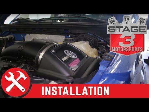 2011-2014 F-150 5.0L S&B Cold Air Intake Kit Install