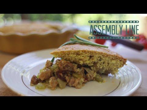 Cornbread Stuffing Pie | Assembly Line