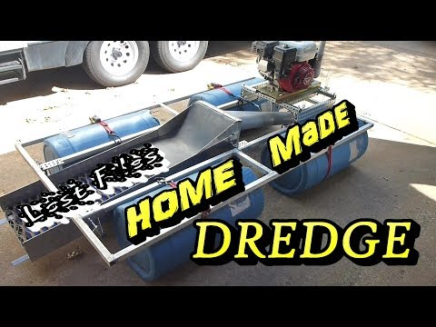 Homemade Gold Dredge - Lost Files
