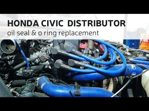 Honda Civic Distributor Oil Seal & O Ring Replacement