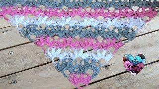 Crochet Point éventails Moelleux Facile
