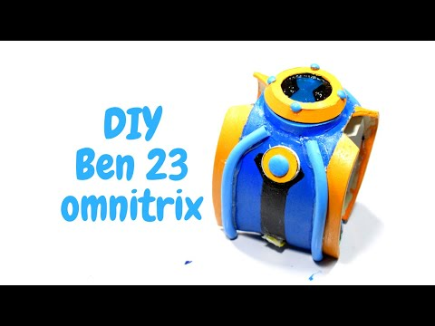 How to Make Ben 23 Omnitrix   ( Hero watch ) -  at home