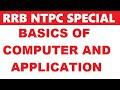 Download  Basics of Computer and Application for rrb je and rrb ntpc MP3,3GP,MP4