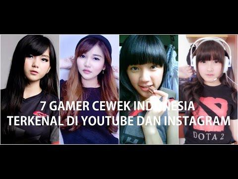 Tujuh (7) Gamer Cewek Indonesia yang Terkenal di Youtube dan Instagram
