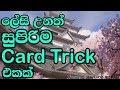 Download ලේසි උනත් සුපිරිම card trick එකක් MP3,3GP,MP4