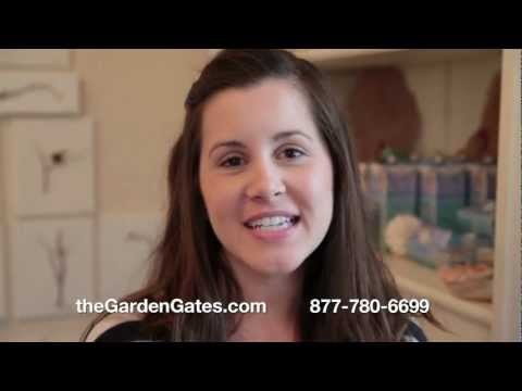 Dried Lavender Scoops with Alyse at The Garden Gates