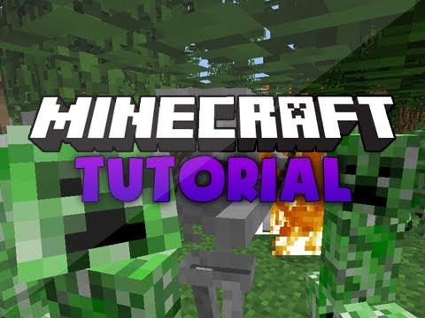 Minecraft Tutorial: Hostile mob spawner and killer! (Works on Xbox)