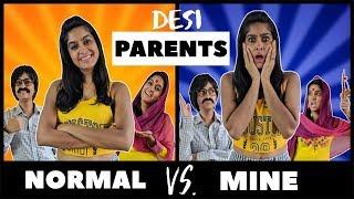 Normal Parents VS. My Parents 👨👩👧 | Rickshawali