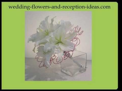 Oriental Lily Wedding Bouquet