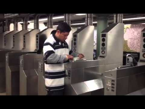 Getting on NYC subway without Metro Card