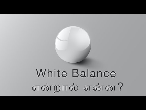 White Balance Intro Part 1 | Learn Photography in Tamil