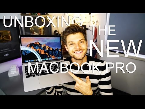UNBOXING THE NEW MACBOOK PRO