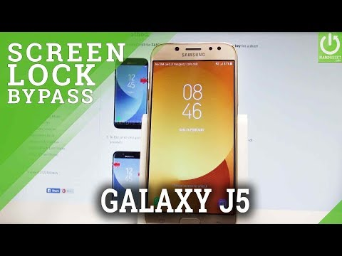How to Hard Reset SAMSUNG Galaxy J5 2017 - Bypass Screen Lock |HardReset.Info