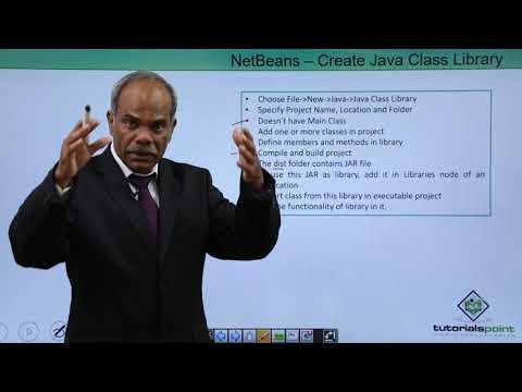 NetBeans - Create Java Class Library