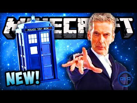 Minecraft Doctor Who - TARDIS, NEW DOCTOR & DALEKS (MODS)! - Minecraft Mod 2014